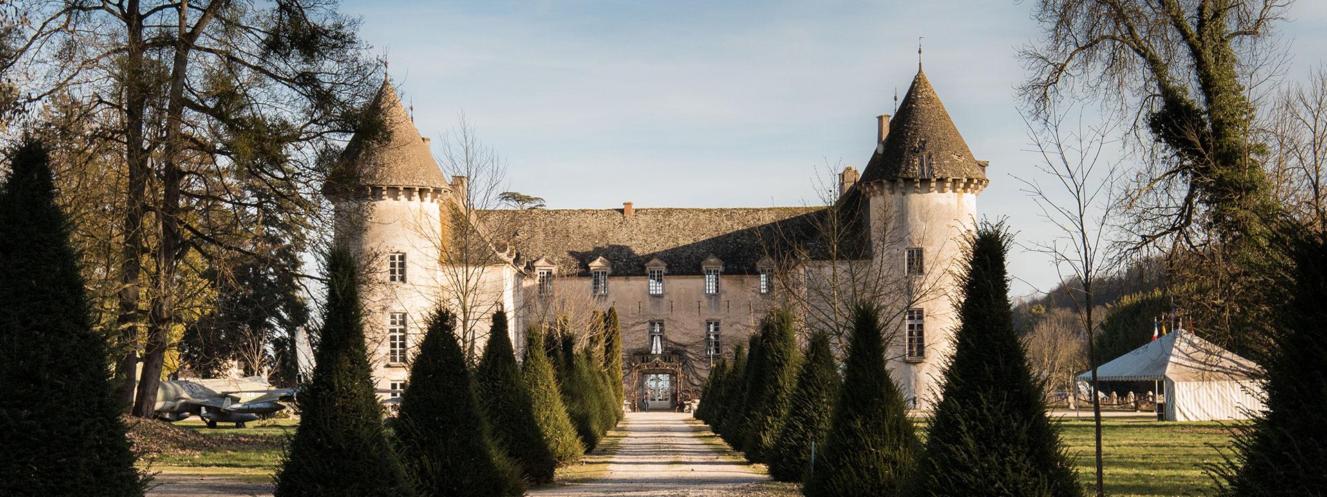 Entrée château Savigny